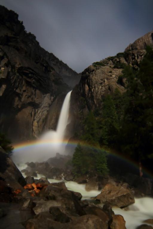 Tr Snow Creek Trail To Yosemite Falls Trail 6 9 6 10 17 High Sierra Topix