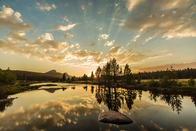 Tuolumne Meadows Sunset