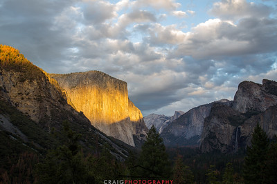El Capitan Sunset Yosemite 1
