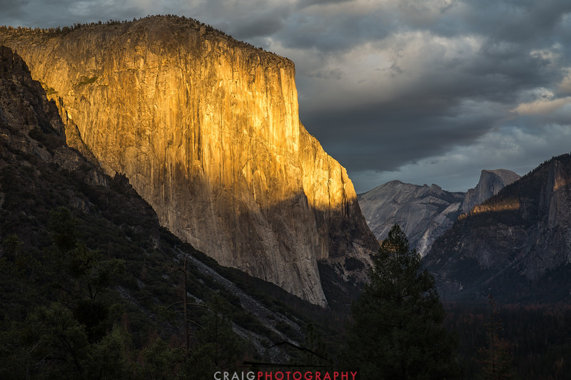 El Capitan Sunset Yosemite 2