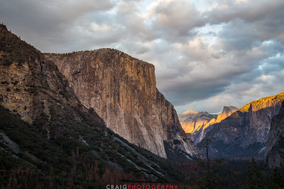 El Capitan Sunset Yosemite 3