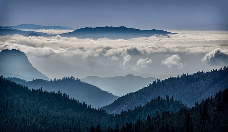Above the Clouds - Sequoia National Park, California - Jerry Negele - February 2013
