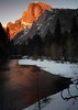 Half Dome in Evening Light - Yosemite National Park, California - Sid Gauby - February 2013