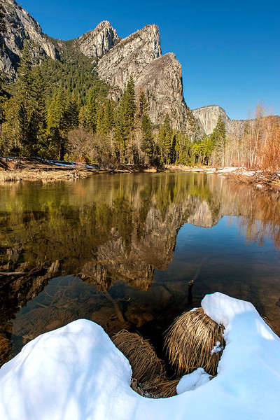 Three Brothers - Yosemite National Park, California - Jerry Negele - February 2013