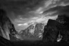 The Grand View in Monochrome - Yosemite National Park, California - Darren Stratemeier - February 2013