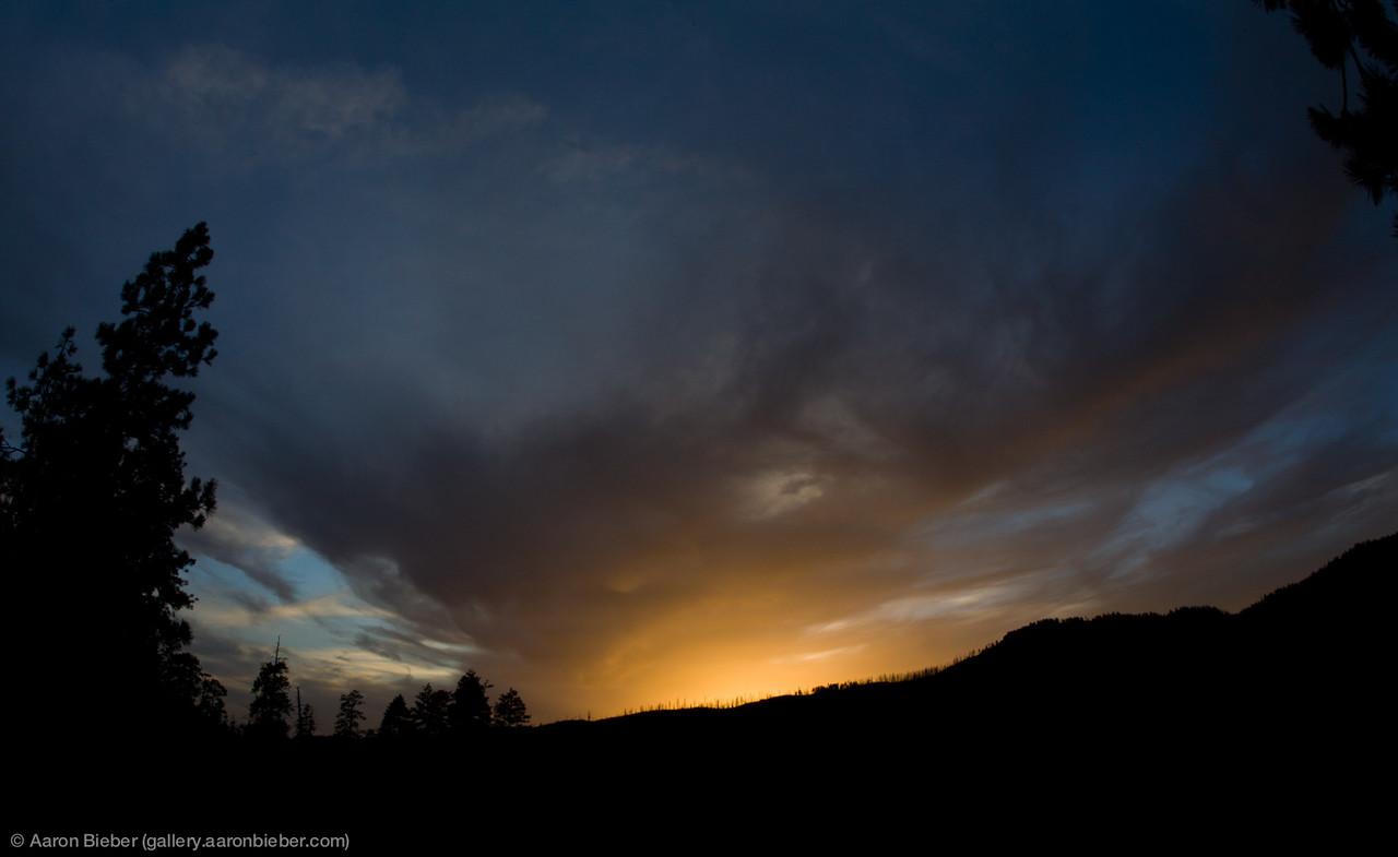 The Horizon Aglow