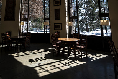 Inside the Ahwahnee Hotel, now known as Majestic Yosemite Hotel
