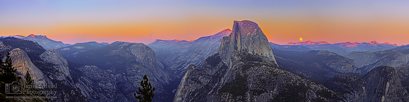 """Untouched Beauty,"" Yosemite High Country at Sunset, Yosemite National Park"