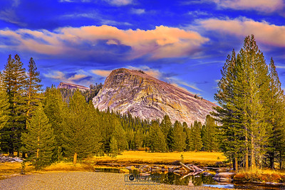 """Tuolumne Oasis,"" Lembert Dome Golden Hour, Tuolumne Meadows, Yosemite National Park, California"