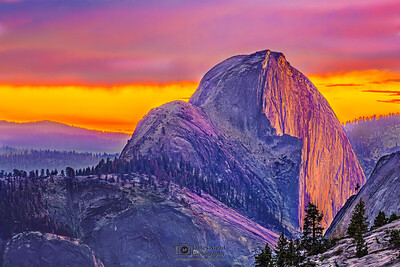 """Tranquility,"" Half Dome Sunset, Yosemite National Park"