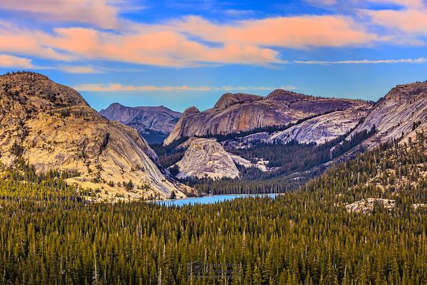 """Emerald Gem,"" Tenaya Lake Golden Hour, Yosemite National Park"