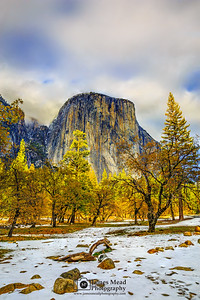 """The Last Days of Autumn,"" El Capitan, Yosemite Valley, Yosemite National Park"