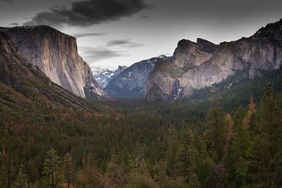 Yosemite Winter Camping 2015