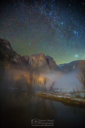 """Valley of Dreams,"" Yosemite Valley, Yosemite National Park"