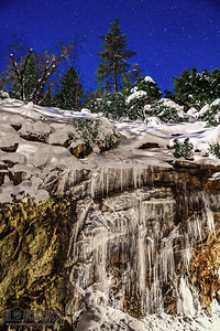 """Icefall,"" Yosemite National Park, California"