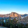 Half Dome and North Dome Sunset - Yosemite-2