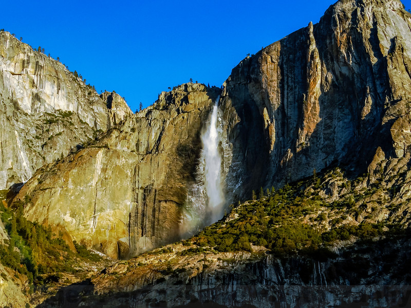 Upper Yosemite Falls and the Lost Arrow