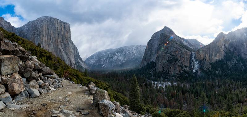 Old Big Oak Flat Rd Storm - Yosemite