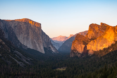 Yosemite Valley from Artist's Point