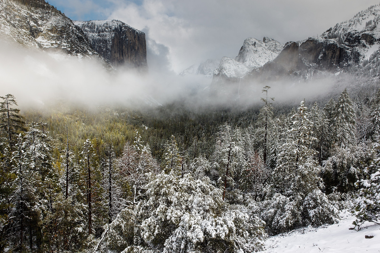 """Tunnel View, Yosemite Valley"""