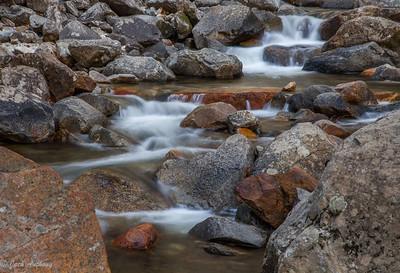 Stream below Bridal Vail Falls