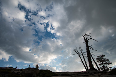 Changing Sky at Sentinel Dome
