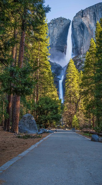 Sunrise, Upper & Lower Yosemite Falls