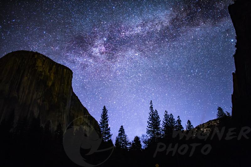 El Capitan Milky Way