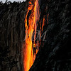 Nature's Fire Fall.  This is a capture of Horse Tail Falls in Yosemite when the sun is setting.  It puts on this show just for a couple of weeks out of the year.  You have 8 minutes from the start of the glow to the end to take the photograph.  Well you and about 150 other photographers that are jockeying for position.