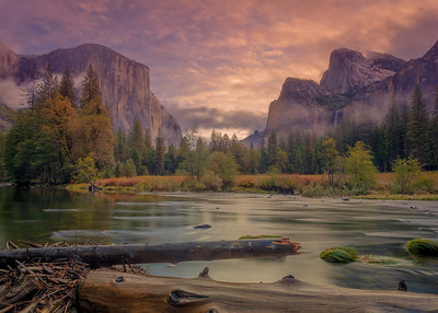 Autumn Sunrise, Gates of the Valley