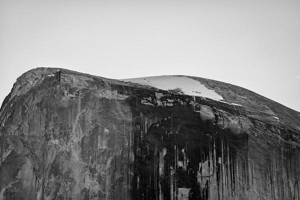 Half Dome Closeup - Yosemite