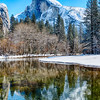 Half Dome Reflection - Yosemite