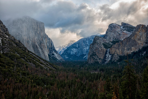 Tunnel View - Yosemite-2