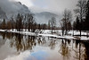 """Merced River in Winter"""