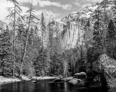 Merced River in the Afternoon
