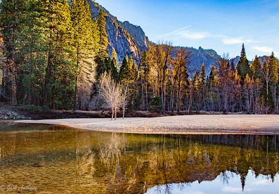 Merced River reflection