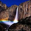 Upper Yosemite Falls Moonbow