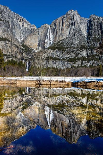 """""""Yosemite Falls Reflection"""""""