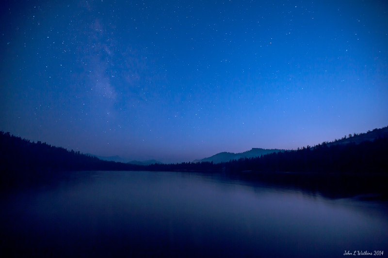 Blue Hour at Tenaya Lake