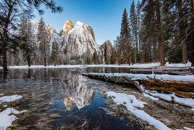 Yosemite Spring and Winter