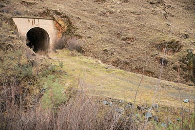 Western portal of Tunnel 1