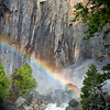 Rainbow, Yosemite Lower Falls, April 2016