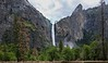 Bridalveil Falls as the storm cleared Friday morning.