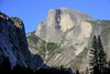 Late afternoon at Half Dome.