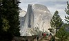 Close crop of Half Dome.