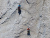 2 climbers on El Capitan