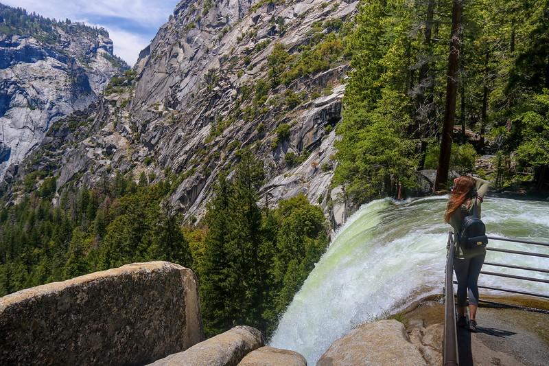 Top of Vernal Falls.