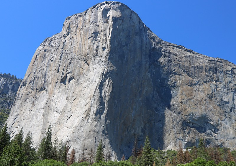 The average El Capitan ascent takes 4 to 6 days. There are multiple climber paths up this massive landmark, all of them world class difficult even with the finest equipment. Now that you have seen El Cap's audacious climbers, and the 100 lbs per person of gear they drag with them not because they want to-they HAVE to, read the caption on the next and final image. Feel free to be amazed.
