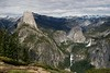 Daytime shot of Half Dome in a wider angle.