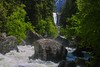 Vernal Falls from the bridge.